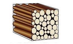 Stère de bois bûche de 1 mètre