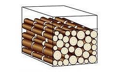 Stère de bois bûche de 0.33 mètre