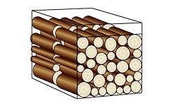 Stère de bois bûche de 0.5 mètre